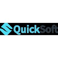 Логотип компании «QuickSoft»