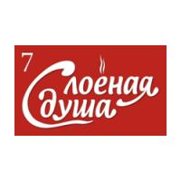 Логотип компании «Слоёная душа»