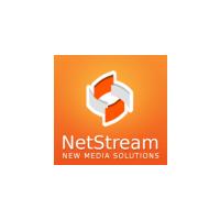 Логотип компании «NetStream»