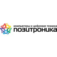 Логотип компании «Позитроника»