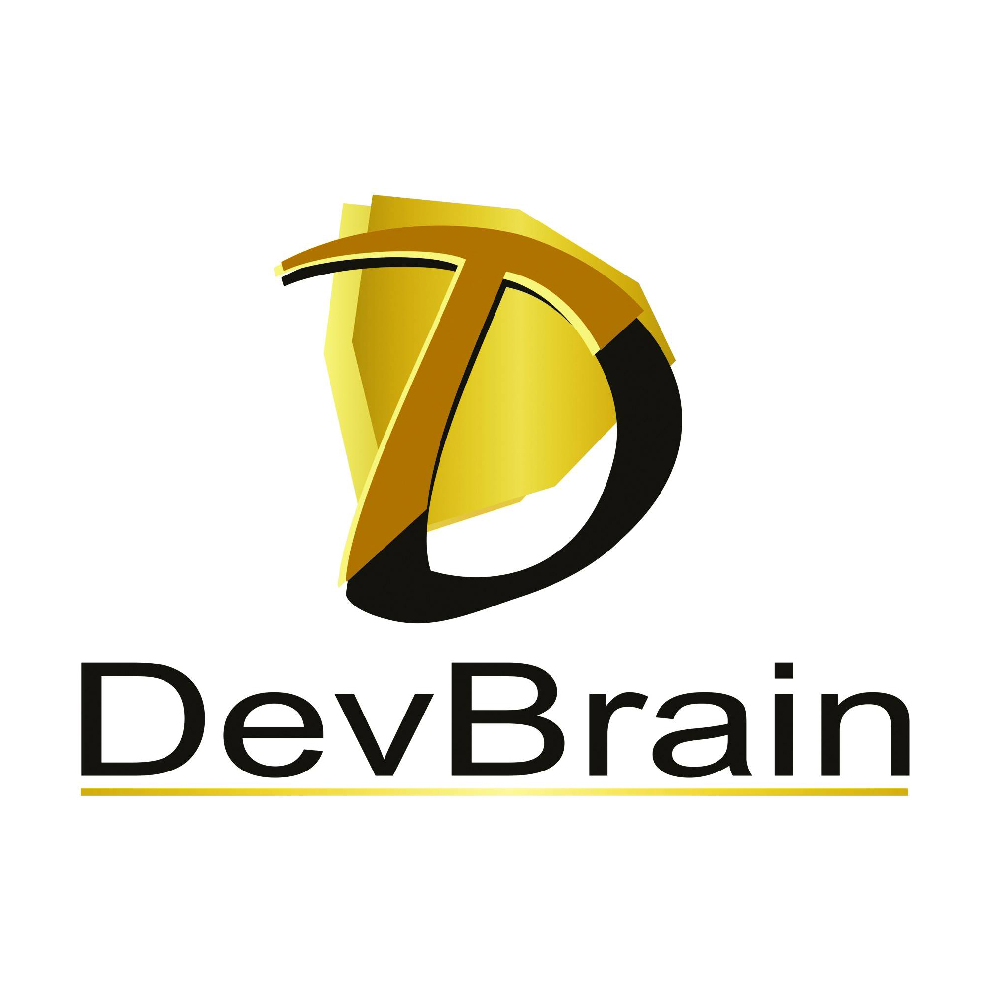 Логотип компании «DevBrain»