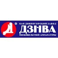 Логотип компании «Дивногорский завод низковольтных автоматов (ДЗНВА)»