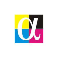 Логотип компании «Альфа Принт»