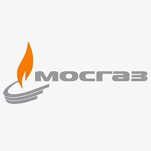 Логотип компании «МОСГАЗ»