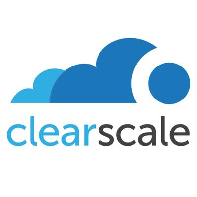 Логотип компании «ClearScale»