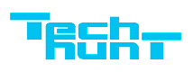 Логотип компании «TechHunt»
