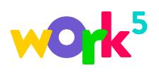 Логотип компании «Work5»