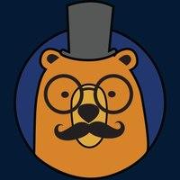 Логотип учреждения доп. образования «Умный Медведь»