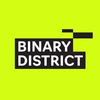 Логотип учреждения доп. образования «Binary District»
