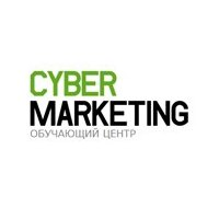 Логотип учреждения доп. образования «Cyber Marketing»