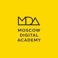Логотип учреждения доп. образования «Moscow Digital Academy»