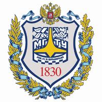 Логотип высшего учебного заведения «Московский государственный технический университет имени Н.Э. Баумана»