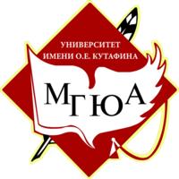 Логотип высшего учебного заведения «Московский государственный юридический университет имени О. Е. Кутафина»