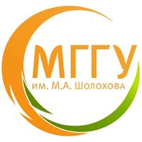 Логотип высшего учебного заведения «Московский государственный гуманитарный университет имени М. А. Шолохова»