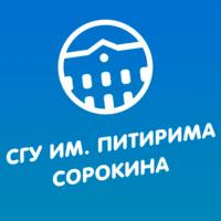 Логотип высшего учебного заведения «Сыктывкарский государственный университет имени Питирима Сорокина»