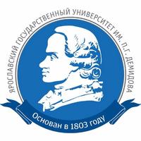 Логотип высшего учебного заведения «Ярославский государственный университет имени П. Г. Демидова»