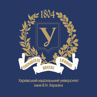 Логотип высшего учебного заведения «Харьковский национальный университет имени В. Н. Каразина»