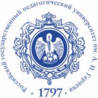 Логотип высшего учебного заведения «Российский государственный педагогический университет имени А.И. Герцена»