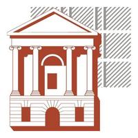 Логотип высшего учебного заведения «Санкт-Петербургский государственный архитектурно-строительный университет»