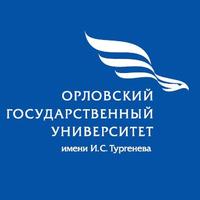 Логотип высшего учебного заведения «Орловский государственный университет имени И.С. Тургенева (бывший ОГТУ)»