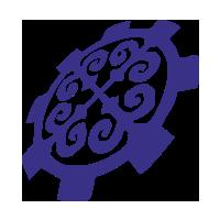 Логотип высшего учебного заведения «Кыргызский государственный технический университет имени И. Раззакова»