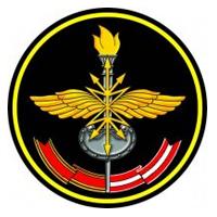 Логотип высшего учебного заведения «Военная академия связи имени С. М. Будённого»