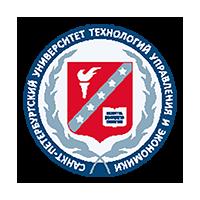 Логотип высшего учебного заведения «Санкт-Петербургский университет технологий управления и экономики»