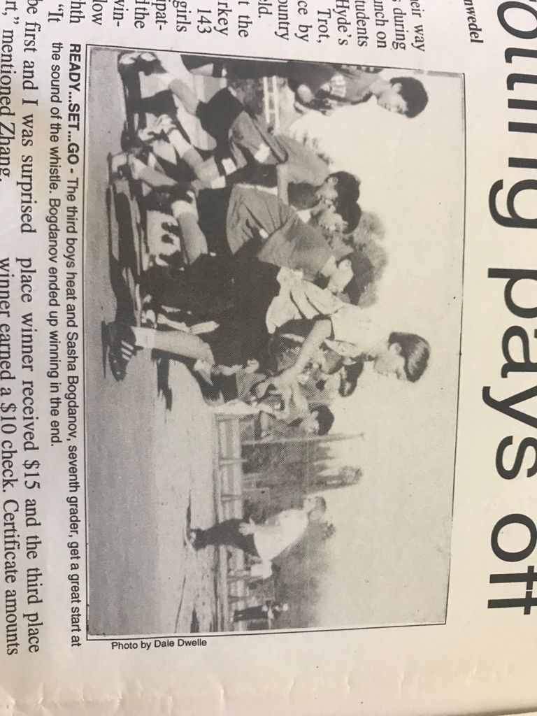Первый забег в Америке 1996 год