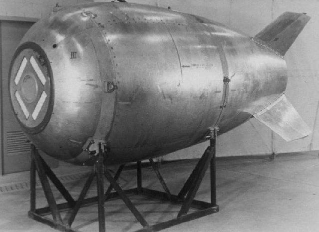 Mark 4. Содержит 2300 кг обычной взрывчатки