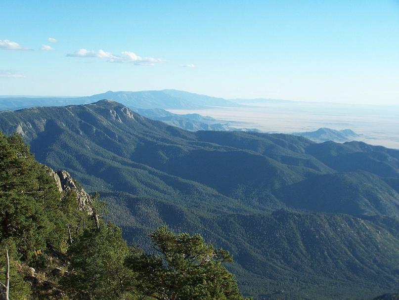 Гора Манзано. Прекрасна и без рыжих деревьев
