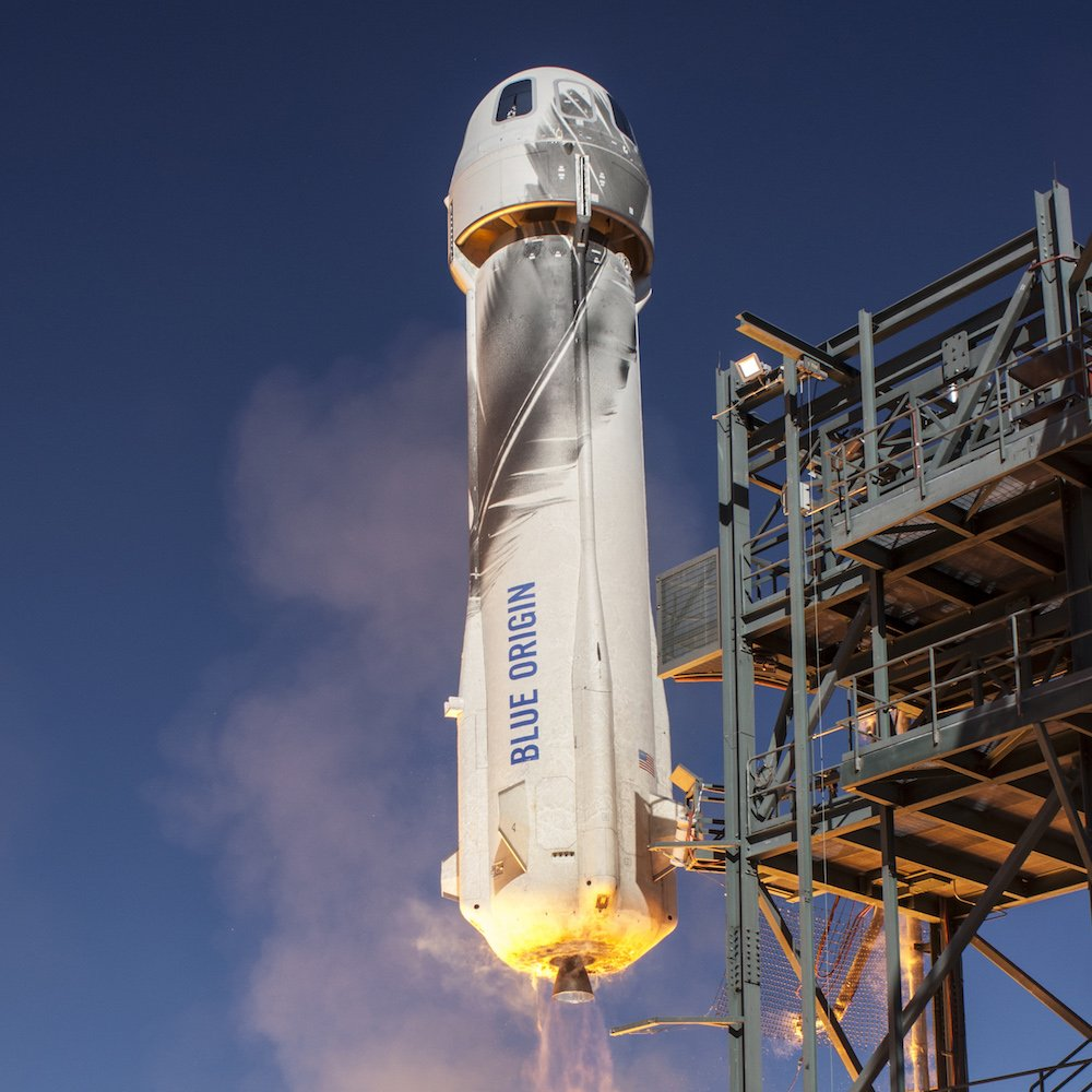 Космический корабль Blue Origin NewShepard