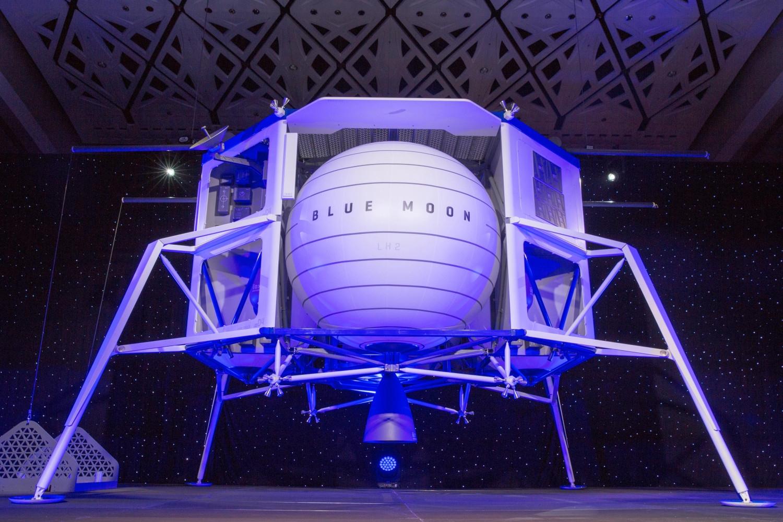 Автоматическая межпланентная станция Blue Origin Blue Moon