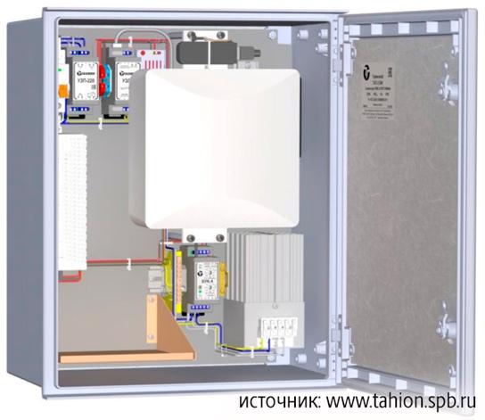 Рис. 7. Внешний вид и компоновка ВАУВ GSM