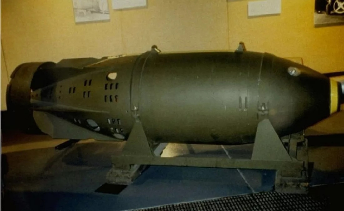 Mk.90 «Betty». За 5 лет было выпущено около 250 таких бомб.