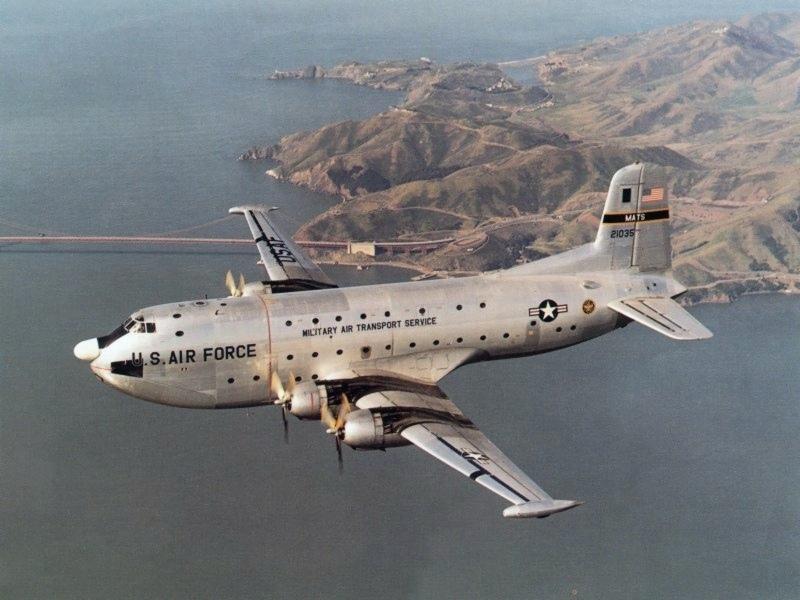 C-124 брутален и невозмутим.
