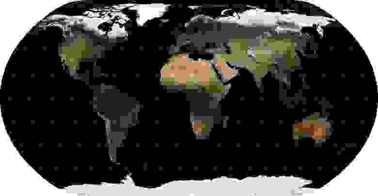 Проекция Natural Earth