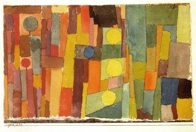 Paul Klee In The Style Of Kairouan