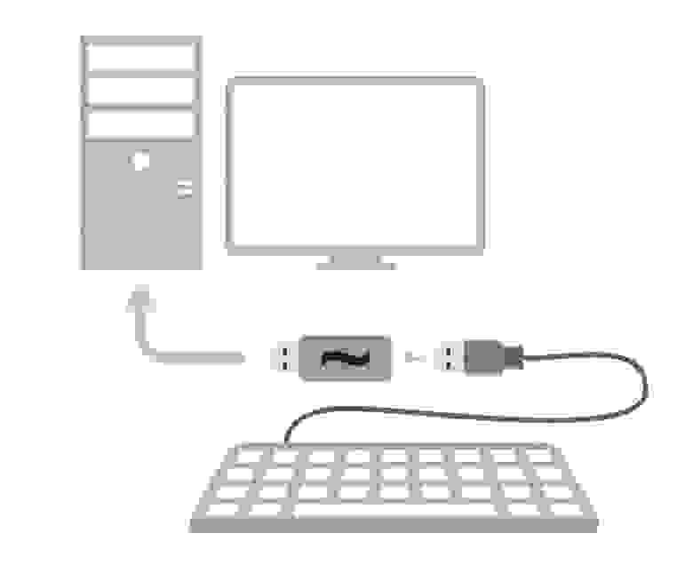 Pastilda, использование с клавиатурой