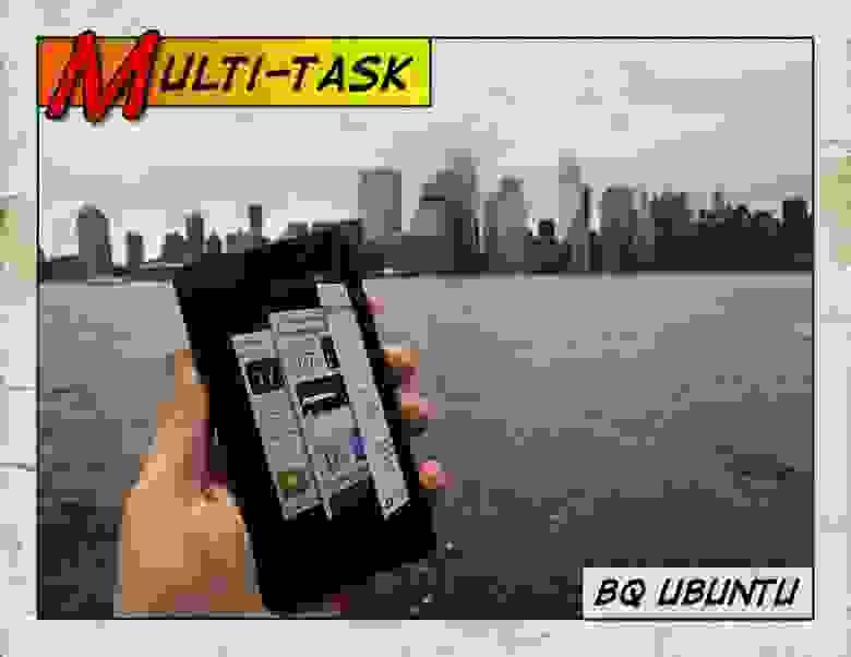 bq Ubuntu в Нью-Йорке