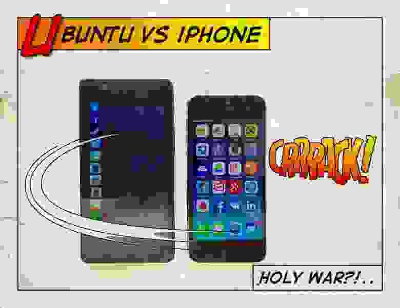 bq Ubuntu vs iOS. Заядлый яблочник меняет iOS на Ubuntu. Псих или… проплаченный Псих?