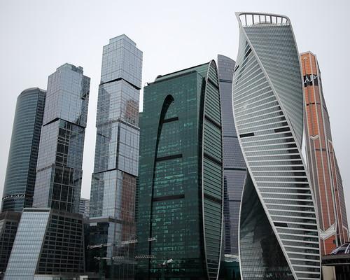 Москва-Сити на Canon 22mm f/2.0