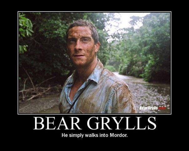 He simply walks into Mordor