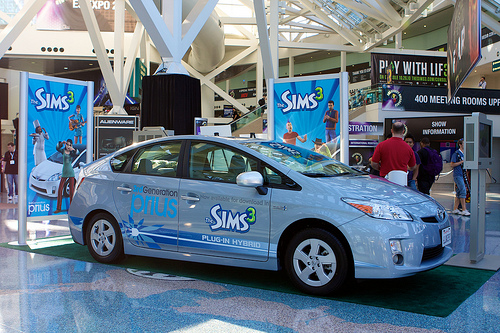 Sims 3 and Prius