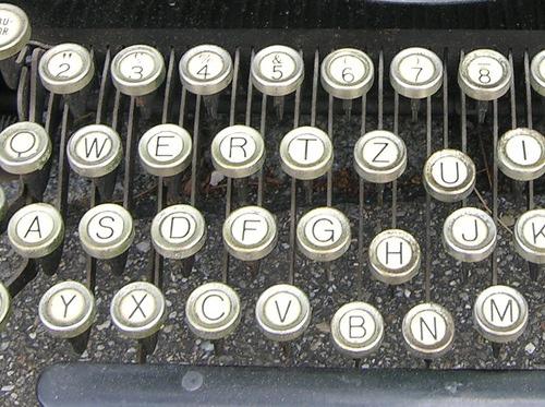 Рычаги печатной машинки