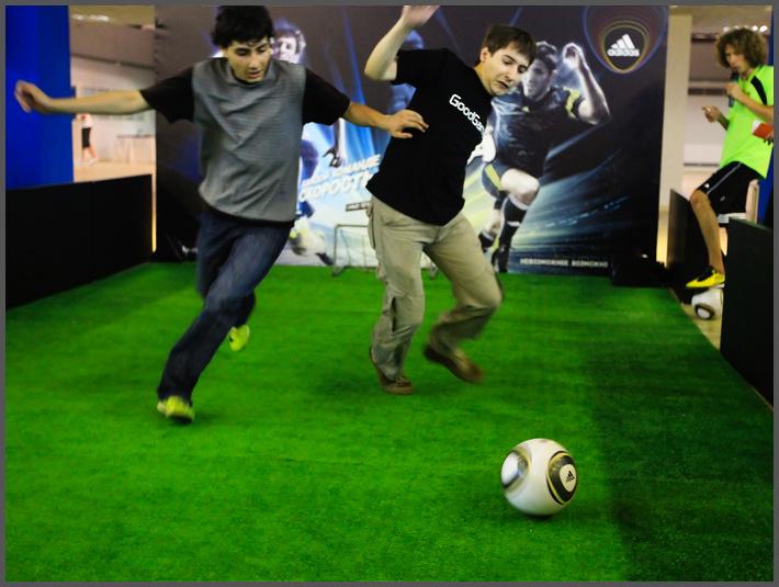 Футбол на WCG Russia 2010