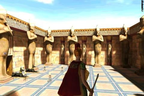 Скриншот из GLBenchmark Egypt