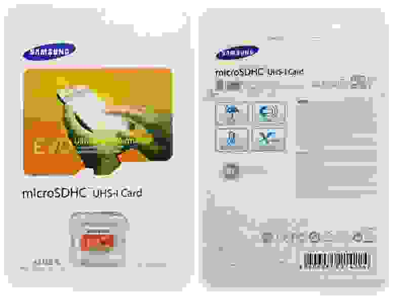Подделка на Samsung EVO 128GB Micro SD