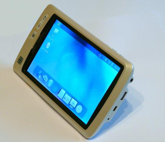 Smart Q7 MID вид сбоку USB Host, USB OTG