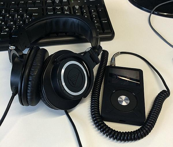 Audio-Techica ATH-M50 + FiiO X5