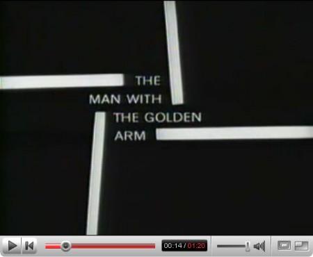 Saul Bass, «The Man with the Golden Arn»
